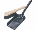 Fire Shovel and Brush